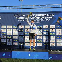 08-10-2020: Wielrennen: EK Baan: Fiorenzurola