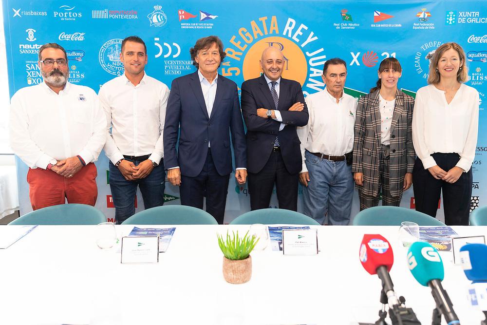 © Maria Muina I Sailingshots.es, 24/09/2019 - Vigo (Pontevedra) - Regata Rey Juan Carlos - El Corte Inglés Máster 2019, Sanxenxo 2019 - Presentación Sede El Corte Inglés de Vigo.