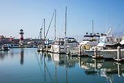 Yachts at Oceanside Harbor
