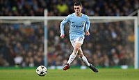Football - 2017 / 2018 UEFA Champions League - Round of Sixteen, Second Leg: Manchester City (4) vs. FC Basel (0)<br /> <br /> Phil Foden of Manchester City at The Etihad.<br /> <br /> COLORSPORT
