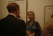 The Earl of Derby and Pia Getty, Irving Penn: Now & Then, private view, Hamiltons Gallery, 13 Carlos Place, London, W1, 13 September 2006. ONE TIME USE ONLY - DO NOT ARCHIVE  © Copyright Photograph by Dafydd Jones 66 Stockwell Park Rd. London SW9 0DA Tel 020 7733 0108 www.dafjones.com