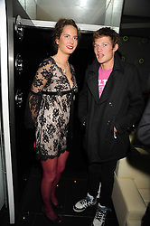 PRINCESS SOFIA ZU SAYN-WITTGENSTEIN-BERLEBURG and COUNT NIKOLAI VON BISMARCK at Tallulah Rufus-Isaac's 21st birthday party held at The Kingley Club, 4 Upper St Martin's Lane, London on 24th September 2008.