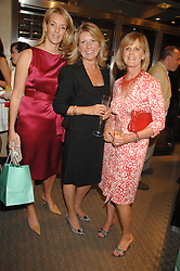 Left to right, FIONA DREESMAN, CAROL BENNETT and JUNITA KERMAN at an evening of private shopping in aid of Elizabeth Fitzroy Support at Tiffany & Co, 145 Sloane Street, London on 14th May 2008.<br /><br />NON EXCLUSIVE - WORLD RIGHTS