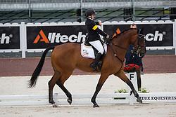 Sydney Collier, (USA), Willi Wesley - Team Competition Grade Ib Para Dressage - Alltech FEI World Equestrian Games™ 2014 - Normandy, France.<br /> © Hippo Foto Team - Jon Stroud <br /> 25/06/14