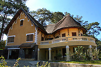 French Colonial Villas in Dalat - In order to make the colonists feel more at home and at the same time to reflect its vision of imperial grandeur, the French colonial government set about systematically rebuilding  Vietnamese cities according to European specifications.
