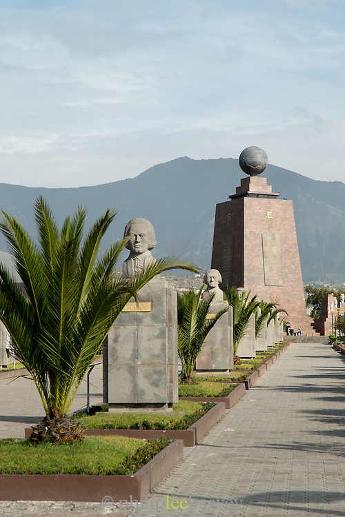 Mitad del Mundo, Middle of the World Monument, Ecuador, South America
