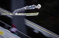 01.03.2019, Seefeld, AUT, FIS Weltmeisterschaften Ski Nordisch, Seefeld 2019, Skisprung, Herren, im Bild Daniel Huber (AUT) // Daniel Huber of Austria during the men's Skijumping of FIS Nordic Ski World Championships 2019. Seefeld, Austria on 2019/03/01. EXPA Pictures © 2019, PhotoCredit: EXPA/ JFK