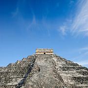 El Castillo (also known as Temple of Kuklcan) at the ancient Mayan ruins at Chichen Itza, Yucatan, Mexico 081216092000_1897.NEF
