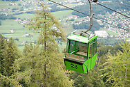 Cable car on Katrin, near Bad Ischl, Salzkammergut, Austria © Rudolf Abraham