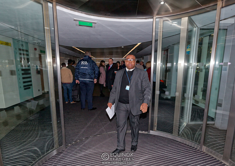 London, United Kingdom - 23 March 2018<br /> The Information Commissioner's Office executes a search warrant on Cambridge Analytica, 55 New Oxford Street, London, England, UK, Europe.<br /> www.newspics.com/#!/contact<br /> (photo by: EQUINOXFEATURES.COM)<br /> Picture Data:<br /> Photographer: Equinox Features<br /> Copyright: ©2018 Equinox Licensing Ltd. +448700 780000<br /> Contact: Equinox Features<br /> Date Taken: 20180323<br /> Time Taken: 19590248