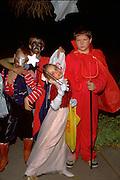 Halloween trick or treaters age 12.  St Paul Minnesota USA