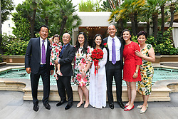 Los Angeles, CA - AUGUST 18: Patrick & Grace Chang's Wedding Reception in Los Angeles, California on August 18, 2021 (Photo by Jc Olivera/VipEventPhotography)