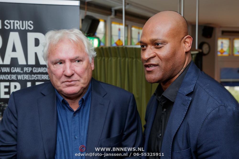 NLD/Amsterdam/20190308 - Boekpresentatie Gerard van der Lem, Gerard en Winston Bogarde