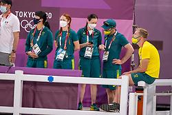 Grooms Team Australia<br /> Olympic Games Tokyo 2021<br /> © Hippo Foto - Dirk Caremans<br /> 26/07/2021no