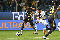 September 1, 2018 - Parma, Italy - Juventus forward Cristiano Ronaldo (7) in action during the Serie A football match n.3 PARMA - JUVENTUS on 01/09/2018 at the Ennio Tardini in Parma, Italy. (Credit Image: © Matteo Bottanelli/NurPhoto/ZUMA Press)