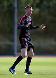 13 September 2017 -  UEFA Europa League (Group H) - Arsenal Training - Per Mertesacker of Arsenal - Photo: Marc Atkins/Offside