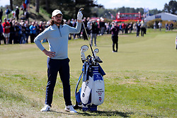 Tommy Fleetwood during day four of the Betfred British Masters at Hillside Golf Club, Southport.