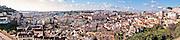 Lisbon, November 2012. Panoramic view from Graça viewpoint.