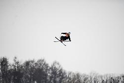 February 18, 2018 - Pyeongchang, SOUTH KOREA - 180218 Elias Ambuehl of Switzerland competes in the Men's Slopestyle Qualification during day nine of the 2018 Winter Olympics on February 18, 2018 in Pyeongchang..Photo: Petter Arvidson / BILDBYRÃ…N / kod PA / 91979 (Credit Image: © Petter Arvidson/Bildbyran via ZUMA Press)