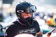 October 30-Nov 1, 2020. Race 2, Lamborghini Super Trofeo, Weathertech Raceway Laguna Seca:  Change Racing mechanic