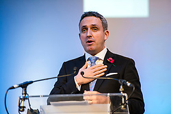 Pictured: Alex Cole-Hamilton, MSP.<br /> The Scottish Liberal Democrats stalwarts gathered today in Dunfermline for their Autumn Conference<br /> <br /> Ger Harley | EEm 11 November 2017