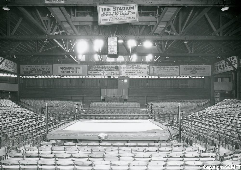 1930 Boxing Arena at Hollywood Legion Stadium
