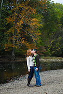 10/14/12 9:34:45 AM - Newtown, PA.. -- Amanda & Elliot October 14, 2012 in Newtown, Pennsylvania. -- (Photo by William Thomas Cain/Cain Images)