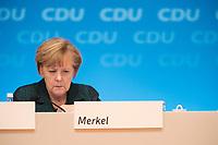 09 DEC 2014, KOELN/GERMANY:<br /> Angela Merkel, CDU, Bundeskanzlerin, CDU Bundesparteitag, Messe Koeln<br /> IMAGE: 20141209-01-153<br /> KEYWORDS: Party Congress