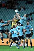 Adam Ashley-Cooper. Waratahs v Hurricanes. 2012 Super Rugby round 15 match. Allianz Stadium, Sydney Australia on Saturday 2 June 2012. Photo: Clay Cross / photosport.co.nz