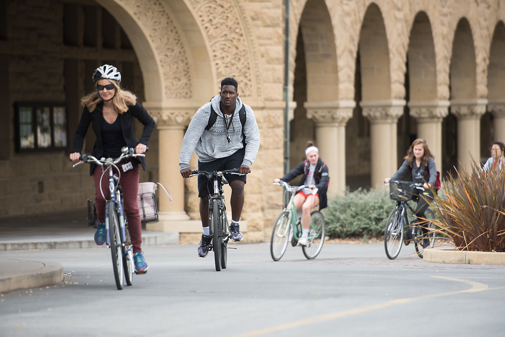 Stanford, Ca - Thursday, May 30, 2017: General Campus.