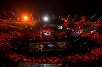 Presentation of the King's Cup 2017 during Quarter Finals match of 2017 King's Cup at Fernando Buesa Arena in Vitoria, Spain. February 16, 2017. (ALTERPHOTOS/BorjaB.Hojas)