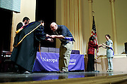 SHOT 5/10/15 3:11:34 PM - Naropa University Spring 2015 Commencement ceremonies at Macky Auditorium in Boulder, Co. Sunday. Parker J. Palmer, a world-renowned author and activist known for his work in education and social change, delivered the commencement speech to more than 300 graduate and undergraduate students along with Naropa faculty and graduate's family members. Naropa University is a private liberal arts college in Boulder, Colorado founded in 1974 by Tibetan Buddhist teacher and Oxford University scholar Chögyam Trungpa. (Photo by Marc Piscotty / © 2014)