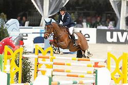 Hanley Cameron, (IRL), Living The Dream<br /> Grand Prix<br /> Hagen - Horses and Dreams 2015<br /> 25/04/15
