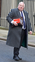 © Licensed to London News Pictures. 18/12/2012. Westminster, UK Communities Secretary Eric Pickles on Downing Street today 18th December 2012. Photo credit : Stephen Simpson/LNP