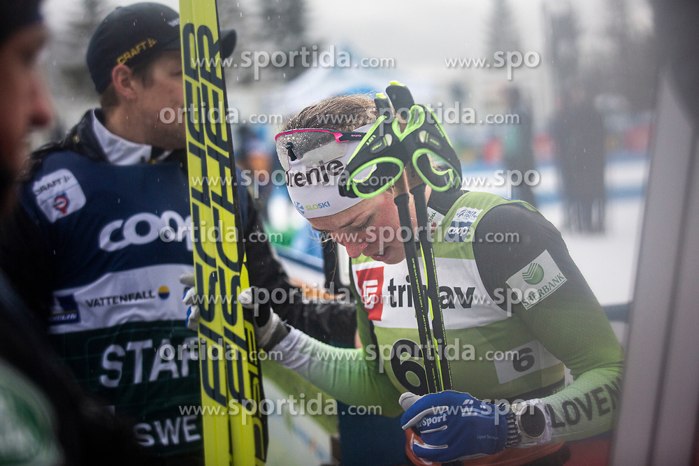 Ana Marija LAMPIC (SLO ) after the ladies team sprint race at FIS Cross Country World Cup Planica 2019, on December 1, 2019 at Planica, Slovenia. Photo By Peter Podobnik / Sportida