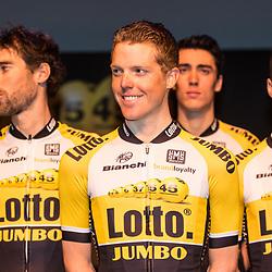 09-01-2015: Wielrennen: Perspresentatie Lotto Jumbo:: Rosmalen<br /> Steven Kruoijswijk,. Laurens ten Dam