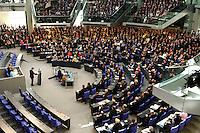 23 MAY 2004, BERLIN/GERMANY:<br /> Uebersicht des Plenarsaales, waehrend der Rede von Horst Koehler, nach seiner Wahl, Sitzung der Bundesversammlung anlässlich der Wahl des Bundespraesidenten, Deutscher Bundestag<br /> IMAGE: 20040523-01-071<br /> KEYWORDS: Bundespräsident, Plenum, Übersicht