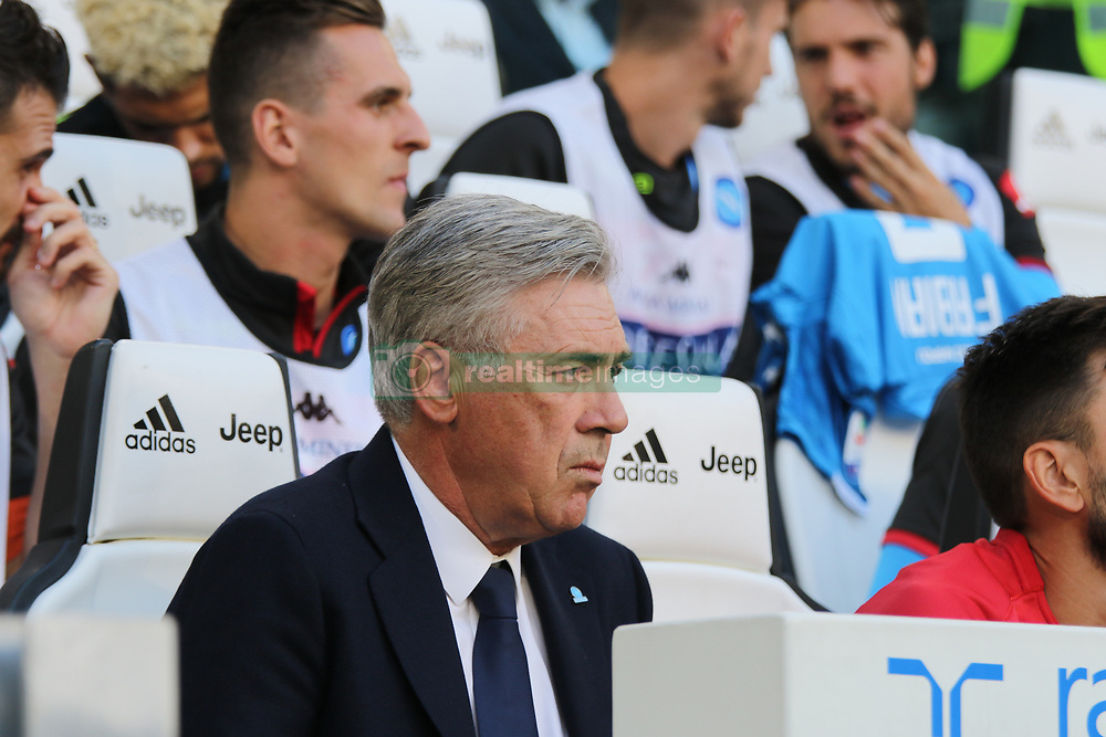 September 29, 2018 - In the picture: coach Carlo Ancelotti..September 29th at the allianz stadium in Turin Juventus beat Napoli 3 to 1. (Credit Image: © Fabio Sasso/ZUMA Wire)