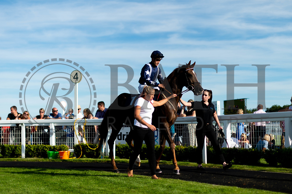 Zero to Hero ridden by Pierre-Luois Jamin and trained by Archie Watson in the Sds Aqua-Xchange Novice Stakes race.  - Ryan Hiscott/JMP - 14/09/2019 - PR - Bath Racecourse - Bath, England - Race Meeting at Bath Racecourse