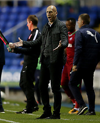 Reading manager Jaap Stam during the Carabao Cup, third round match at the Madejski Stadium, Reading.