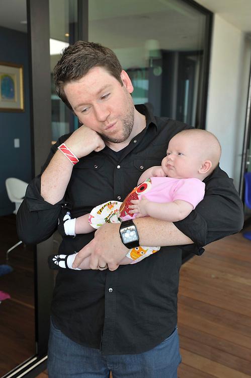 Bill Horn & Baby Simone