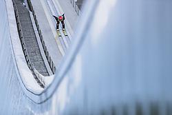 01.01.2021, Olympiaschanze, Garmisch Partenkirchen, GER, FIS Weltcup Skisprung, Vierschanzentournee, Garmisch Partenkirchen, Einzelbewerb, Herren, im Bild Constantin Schmid (GER) // Constantin Schmid of Germany during the men's individual competition for the Four Hills Tournament of FIS Ski Jumping World Cup at the Olympiaschanze in Garmisch Partenkirchen, Germany on 2021/01/01. EXPA Pictures © 2020, PhotoCredit: EXPA/ JFK