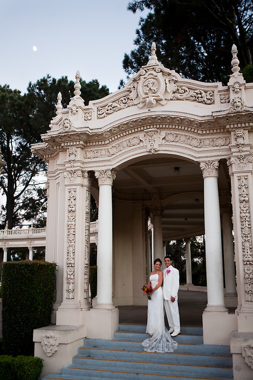 Gabe and Angie at the Japanese Friendship garden in Balboa Park, San Diego CA on Friday, September 9, 2010.