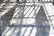 floor with ceiling shadow at the Rijksmuseum in Amsterdam