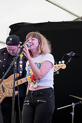 Crystal performing at Party At The Palace Music Festival in Linlithgow Palace grounds on Sat 13th August 2016.<br /> <br /> <br /> Alan Rennie/ EEm