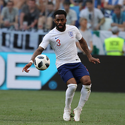June 24, 2018 - Nizhny Novgorod, Russia - June 24, 2018, Russia, Nizhny Novgorod, FIFA World Cup 2018, First round, Group, Second round. Football match of England - Panama at the stadium Nizhny Novgorod. Player of the national team Danny Rose. (Credit Image: © Russian Look via ZUMA Wire)