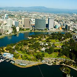 Aerial view Oakland California