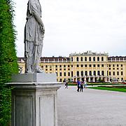 Schonbrunn Palace statue
