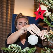 NLD/Amsterdam/20181206 - Sky Radio's Christmas Tree For Charity, Kim Feenstra