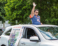 The Walpole High 2020 graduation parade which was held on Sunday, June 7, 2020.